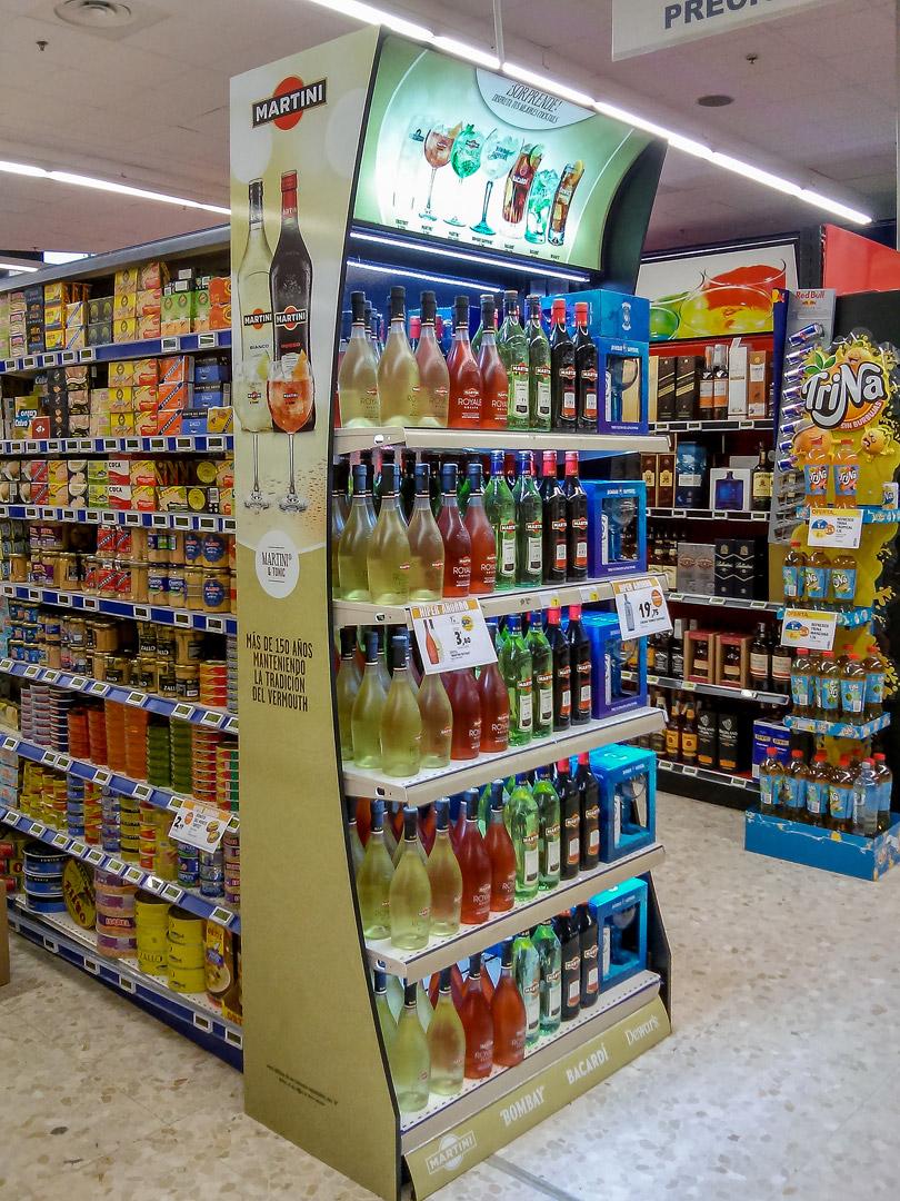 Decoraci n de cabeceras stico for Decoracion de supermercados